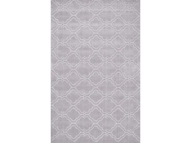 Nuloom MTVS169A-76096 Hand Tufted Wilhelmina Rug, Grey - 7 ft. 6 in. x 9 ft. 6 in.