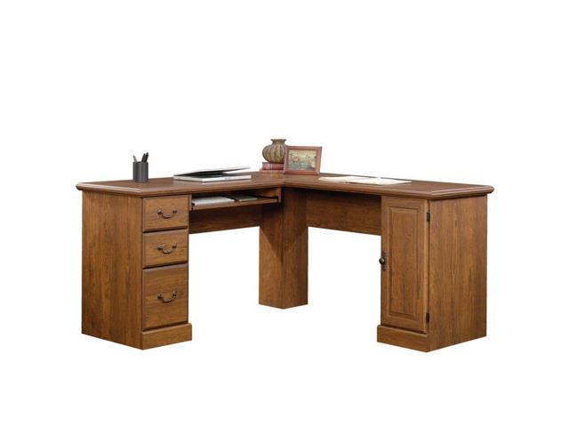 Sauder Orchard Hills L Shaped puter Desk in Milled