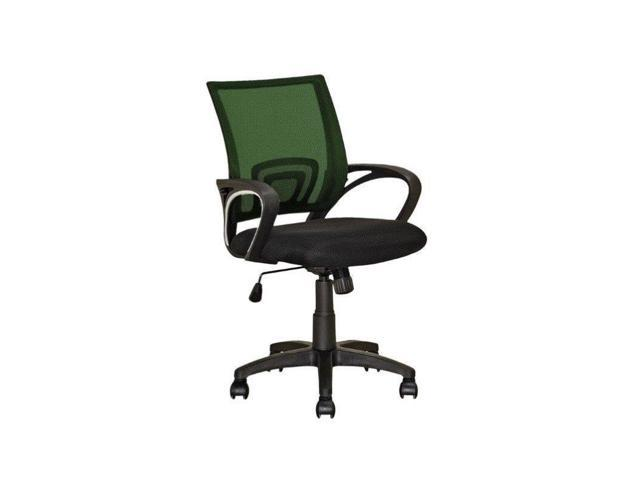 CorLiving Workspace Mesh Back Swivel Office Chair in Forest Green
