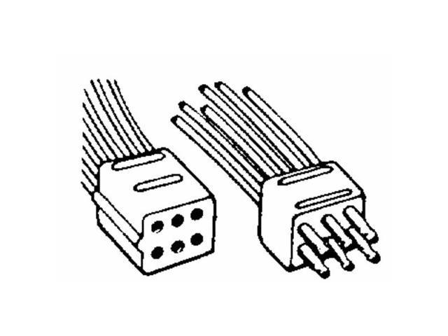 United States Hdwe. RV-360C Molded Connectors