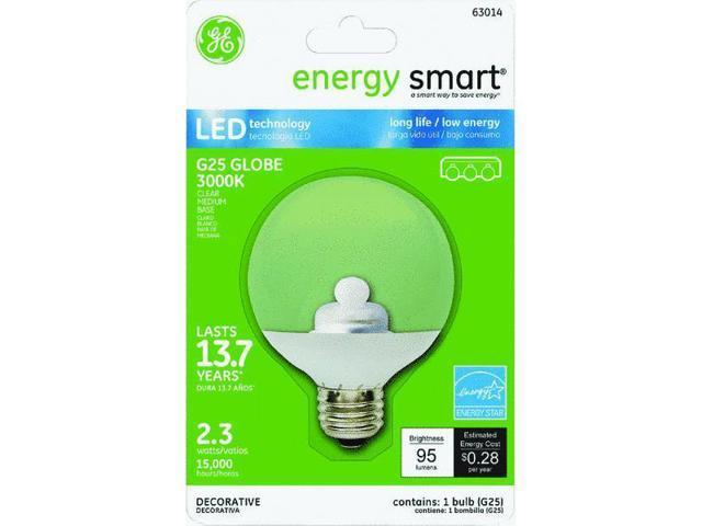 4.5w LED G25 Clear Globe