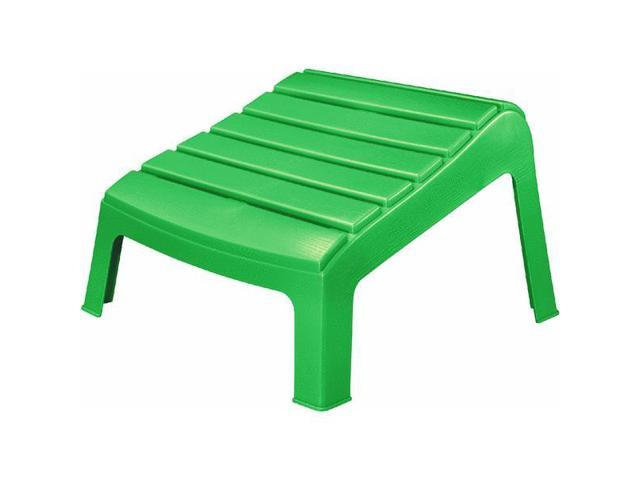 Stackable resin adirondack ottoman - Plastic adirondack footrest ...