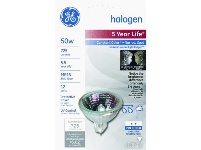 GE Lighting 50w Narrow Spt Hlgn Bulb 21458