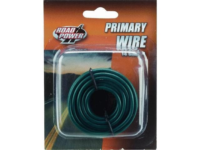 Woods Ind. 14-1-15 PVC-Coated Primary Wire-17' 14GA GRN AUTO WIRE