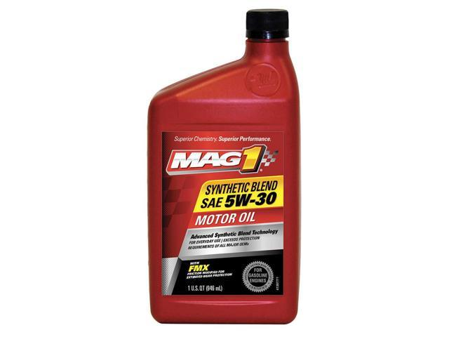 Mag 1 Synthetic Motor Oil 1 Qt 5w 30 Mg53shp6