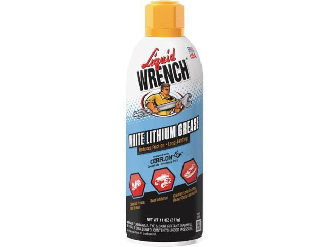14Oz. White Lithium Grease  Aerosol