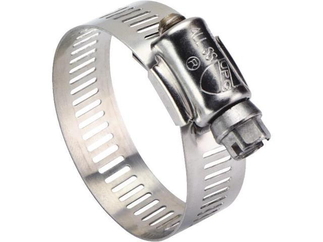 """Ideal Corp. 1-1/4"""" - 2-1/4"""" Stainless Steel Clamp 6328053 Pack of 10"""