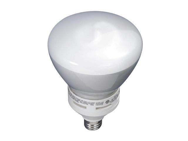 GE LIGHTING CFL Lamp,  26W, CFL, R40, Med, 2700K,  Dim FLE26/2DMR40/BX