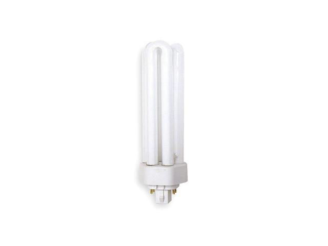 GE LIGHTING Plug-In CFL, 42W, Dimmable, 4100K, 17,000 hr F42TBX/841/A/ECO