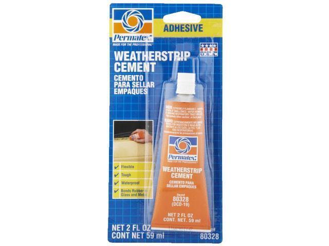 Permatex, Inc. 80328 Weatherstrip Cement