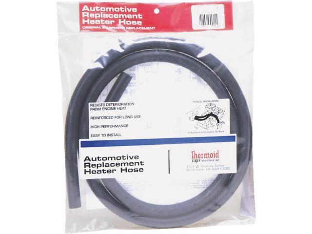 "H B D Industries Inc. 3/4""x6' Black Heater Hose 134"