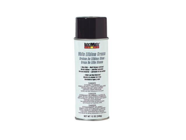 Plews/Lubrimatic 11363 White Lithium Grease-12OZ WHT LITHIUM GREASE