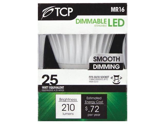 TCP 6w Gu10 LED 30k Bulb RLMR166GU1030K