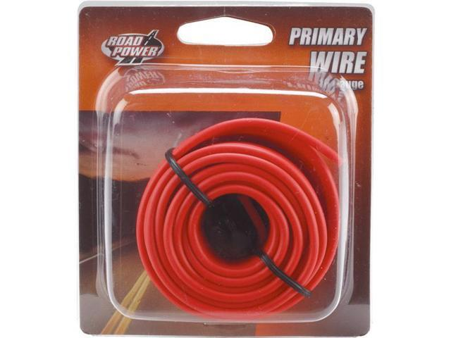 Woods Ind. 16-1-16 PVC-Coated Primary Wire-24' 16GA RED AUTO WIRE