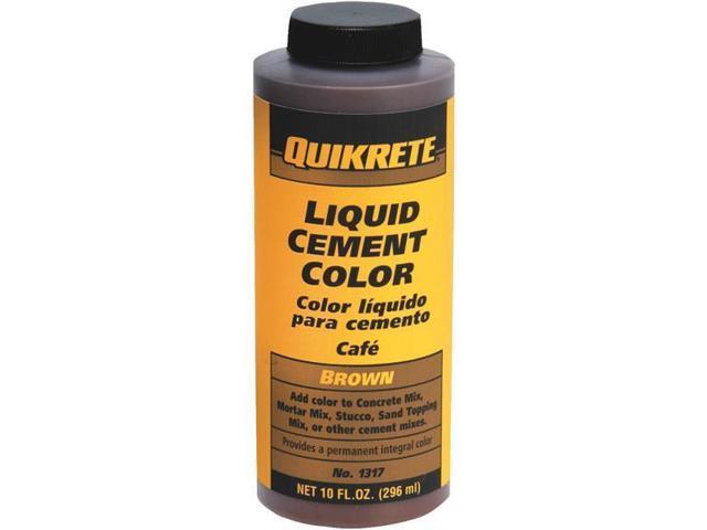 Quikrete Brown Liquid Cement Color 1317-01