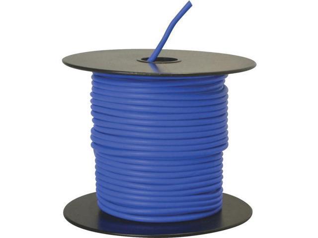 Woods Ind. 14-100-12 Primary Wire-100' 14GA BLUE AUTO WIRE