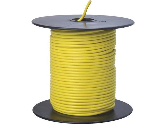 Woods Ind. 18-100-14 Primary Wire-100' 18GA YEL AUTO WIRE