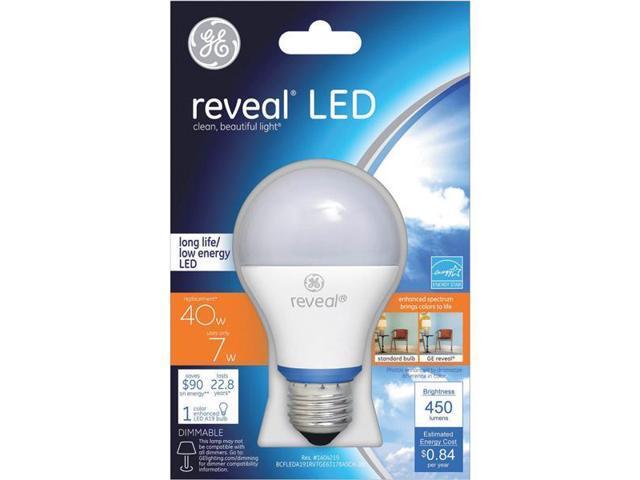 GE Lighting 7w LED Reveal Bulb 63178