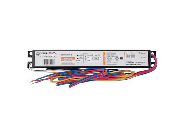 GE LIGHTING Electronic Ballast, T5,73 Watts GE228-MV-PS-H-MC