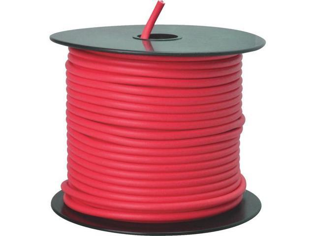 Woods Ind. 12-100-16 Primary Wire-100' 12GA RED AUTO WIRE