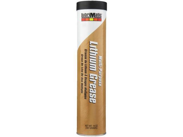 14Oz Cartridge Grease Lithium LUBRIMATIC Lubricants 11315  Black 079700113150