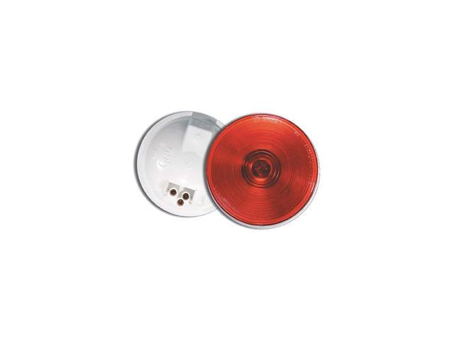 GROTE Stop/Tail/Turn Lamp, Red, Round 52772
