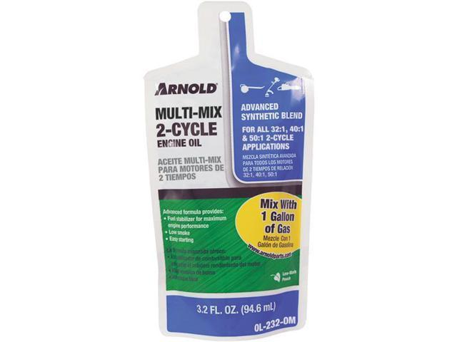 Arnold All Ratio 2-Cycle Motor Oil-3.2OZ UNIVRSL 2CYCLE OIL