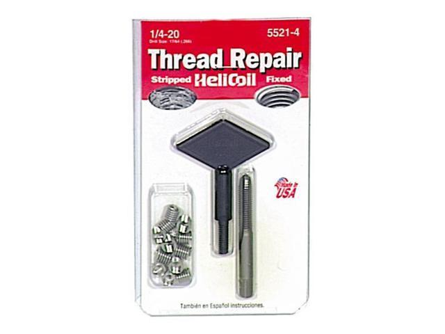 Helicoil 5521-4 Thread Repair Kit-1/4X20 THREAD REPAIR KIT