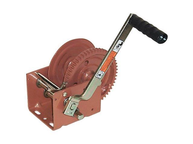DUTTON-LAINSON DL1800A Ratcheting Winch, Spur, No Brake, 1800 lb.
