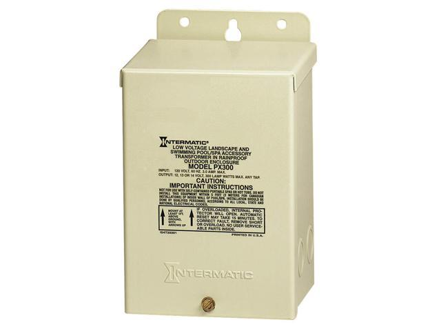 Intermatic PX300 12V Transformer With Automatic Circuit Breaker