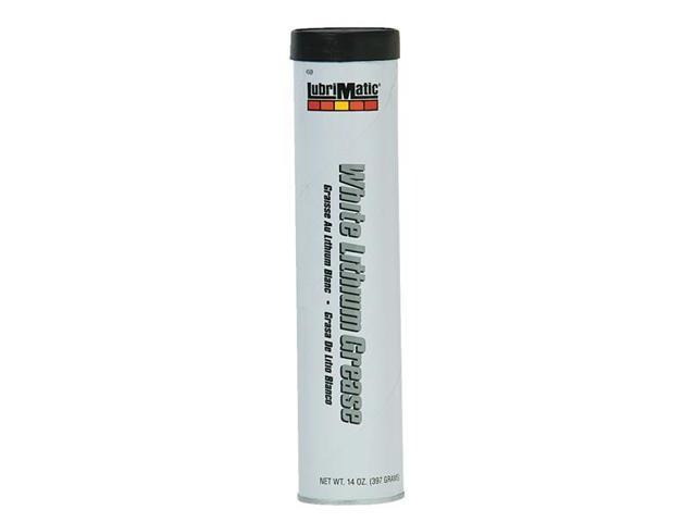 PLEWS-LUBRIMATIC 11354 Lubricating Grease, 14 oz, NLGI Grade 2