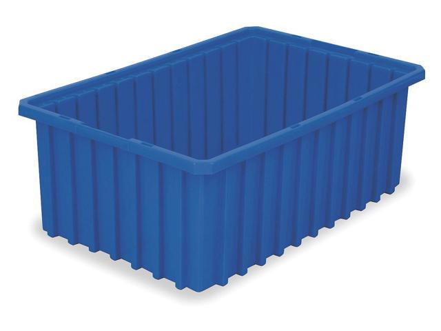 AKRO-MILS 33168BLUE Divider Box, 16-1/2 x 10-7/8 x 8 In, Blue