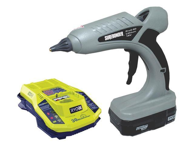 SUREBONDER Pro2-60KIT Glue Gun,7/16 in. Size,1 lb./hr. Output G4419506