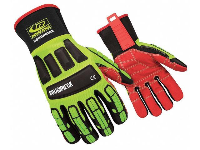 Ringers Gloves Mechanics Gloves, Impact Protection, L, PR 263-10