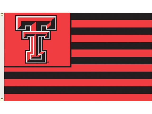 Bsi Products 95127 3 Ft. X 5 Ft. Flag W/Grommets - Texas Tech Red Raiders