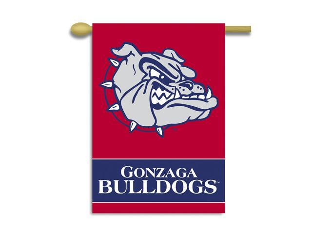 Bsi Products 96078 2-Sided 28'' X 40'' Banner W/ Pole Sleeve - Gonzaga Bulldogs