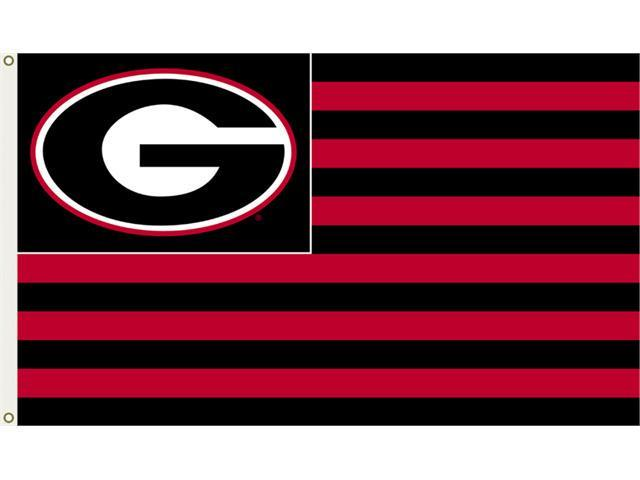 BSI Products 95707 Georgia Bulldogs- 3 ft. X 5 ft. Flag W-Grommets