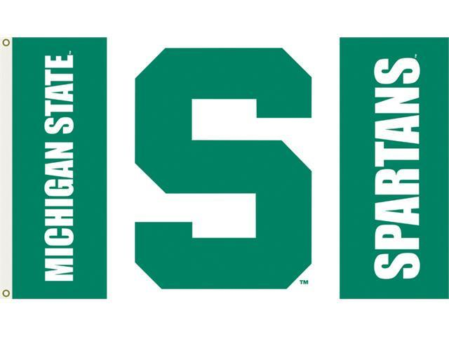 Bsi Products 95129 3 Ft. X 5 Ft. Flag W/Grommets - Michigan State Spartans