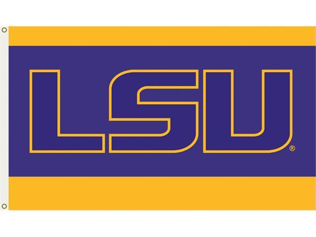 Bsi Products 95215 3 Ft. X 5 Ft. Flag W/Grommets - Louisiana State Tigers