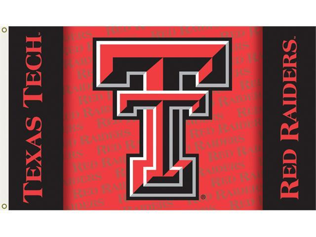 Bsi Products 95227 3 Ft. X 5 Ft. Flag W/Grommets - Texas Tech Red Raiders