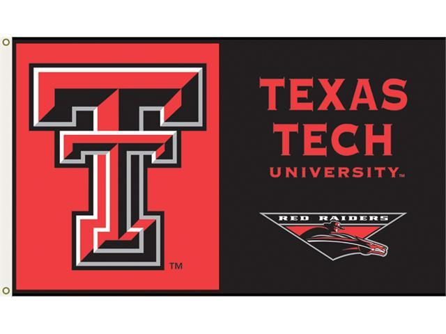 Bsi Products 95027 3 Ft. X 5 Ft. Flag W/Grommets - Texas Tech Red Raiders
