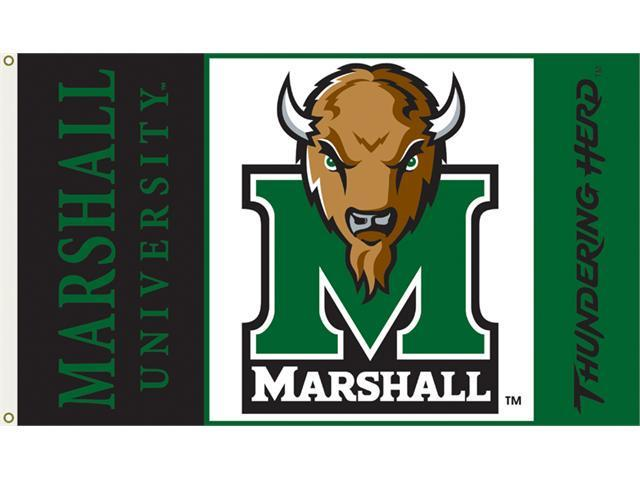 Bsi Products 95035 3 Ft. X 5 Ft. Flag W/Grommets - Marshall Thundering Herd