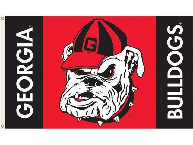 Bsi Products 95107 3 Ft. X 5 Ft. Flag W/Grommets - Georgia Bulldogs