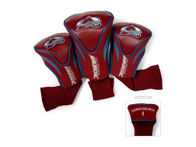 Team Golf 13694 Colorado Avalanche 3 Contour Sock Headcovers