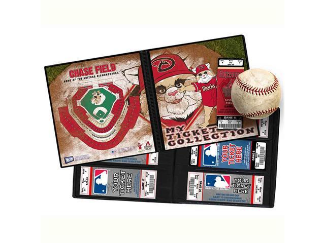 Ticket Album MLB - Arizona Diamondbacks Mascot (Holds 96 Tickets)