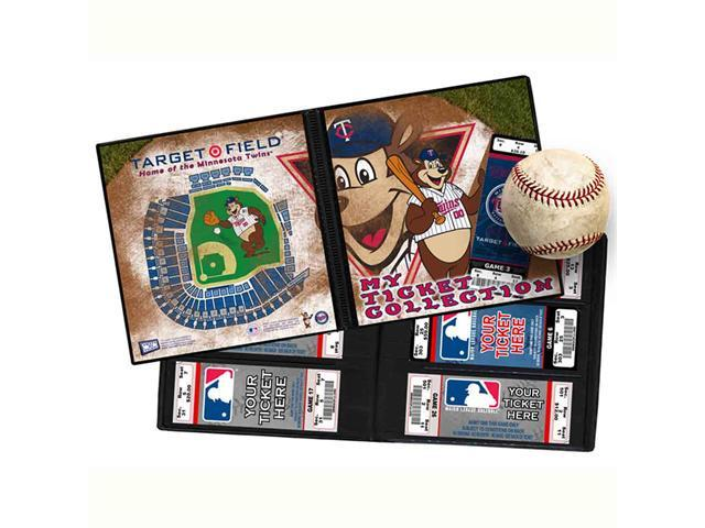 Ticket Album MLB - Minnesota Twins Mascot (Holds 96 Tickets)
