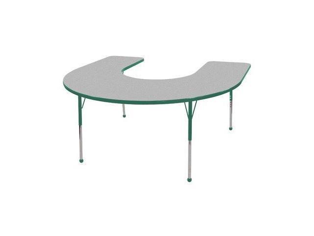 60x66 Horseshoe Adj Activity Table(19