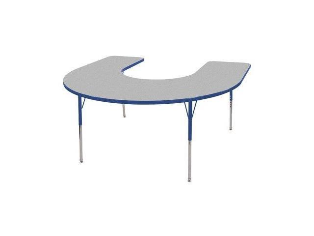 60x66 Horseshoe Adj Activity Table(19