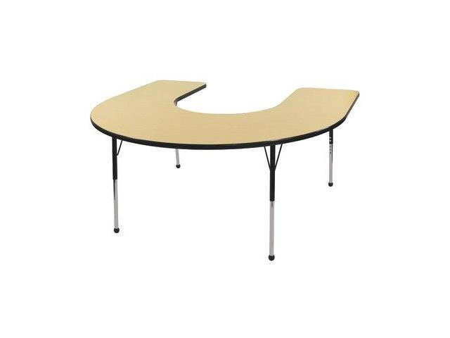 60x66 Horseshoe Adj Activity Table(15