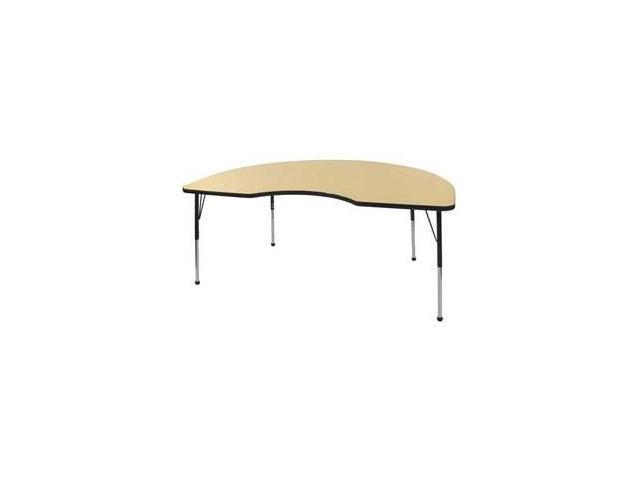 48x72 Kidney Adj Activity Table (Chunky)